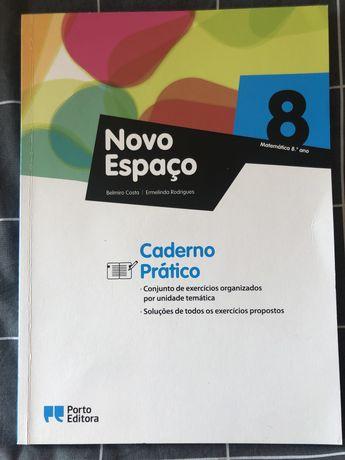 Caderno livro de actividades matemática 8.º ano