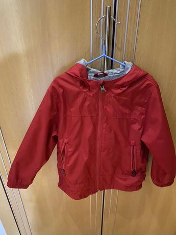 Casaco Corta Vento, vermelho da GAP, tamanho 3 anos