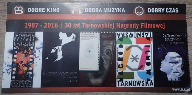 Bilet kolekcjonerski: Tarnowska Nagroda Filmowa 30-lecie