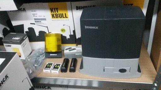 Napęd Automat Bennica bull 5 wraz z montazem