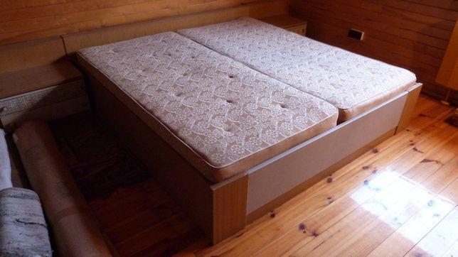Zestaw sypialniany do sypialni łóżko szafa szafka komoda old school