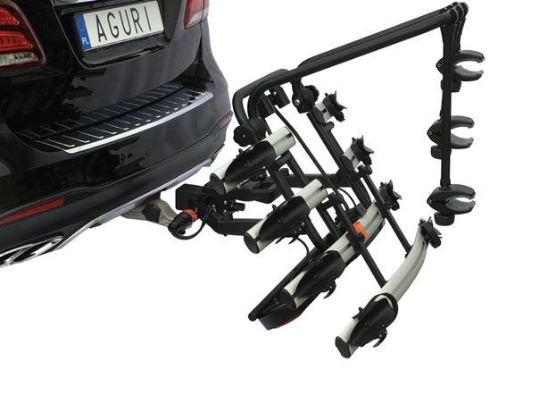 Rowy Bagażnik Platforma Hak Active Bike 3/4 HIT Silver - AGURI