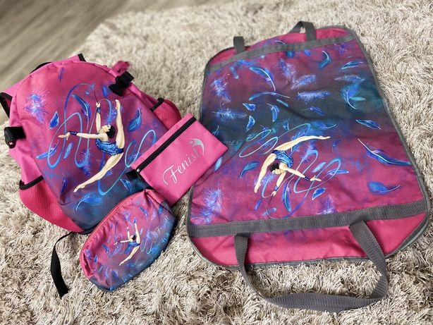 для гимнастики (рюкзак, чехол под купальник, косметичка, кошелек)