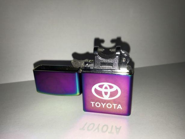 Zapalniczka PLAZMOWA Elektryczna USB PREZENT logo TOYOTA prezent