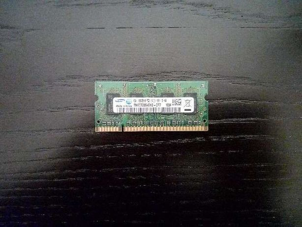 Memória RAM Samsung 1GB para portátil