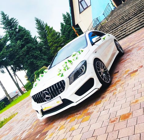 Auto do ślubu , na wesele Mercedes, usługa ślubna , rozwożenie gości