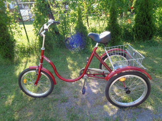 rower trójkołowy rehabilitacyjny TOLEK