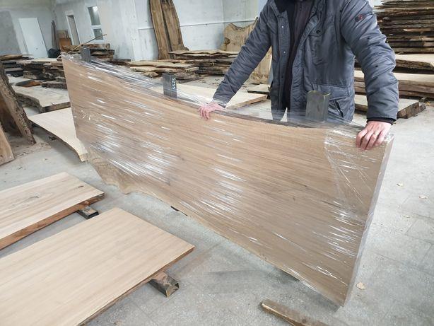 Monolit stół żywica drzewo mebel kuchnia blat drewniany lity loft wood