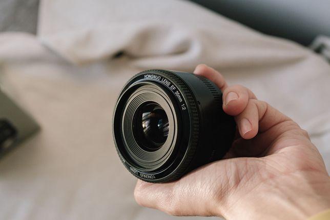 Об'єктив Yongnuo EF 35mm 1:2 for canon