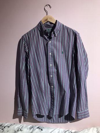 Koszula męska Polo Ralph Lauren S custom fit w paski