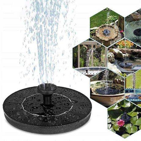 Fontanna solarna ogrodowa pływająca do oczka wodnego