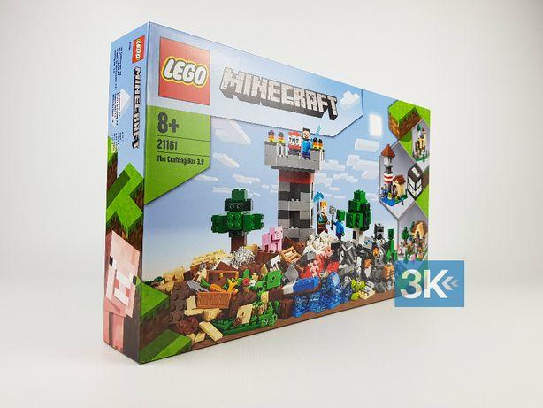 NOWE Lego Minecraft 21161 Kreatywny warsztat 3.0 ORYGINAŁ