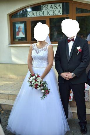 Garnitur czarny ślubny