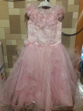 Платье на выпускной в садик р.116