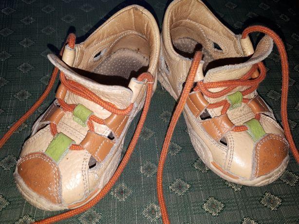 Sandały skórzane sandałki Jamet rozmiar 21