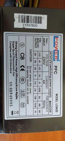 Блок питания 420W LC-Power LC6420