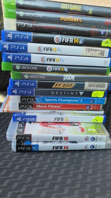 Gry Xbox one Ps3 Ps4 wyprzedaż