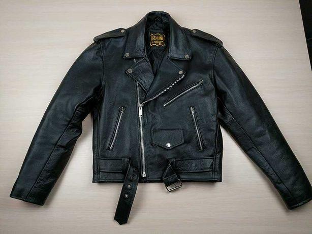 Кожаная куртка косуха S\M не belstaff zara