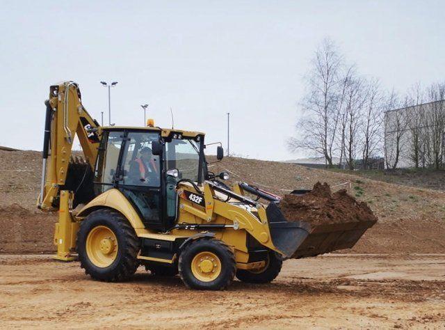 Экскаватор погрузчик САТ. Земельные работы, строительство, демонтаж. Киев - изображение 1