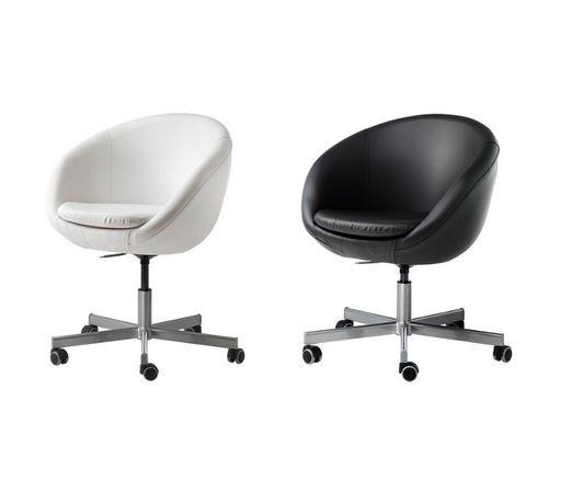 Sprzedam fotel krzesło biurowe obrotowe IKEA SKURVSTA