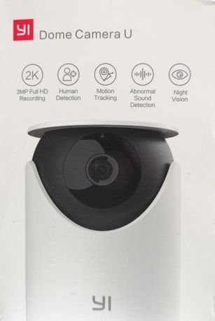 Kamera WiFi YI Dome Camera U – wersja globalna, NOWA