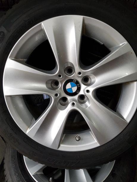 Koła aluminiowe BMW z oponami 225/55/17 8J,ET-30 Czujniki!!