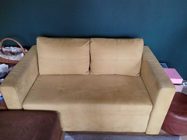 Sofa 2 osobowa/ fotel rozkładana
