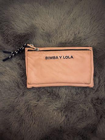 Carteira Bimba Y Lola Original Rosa Bebe