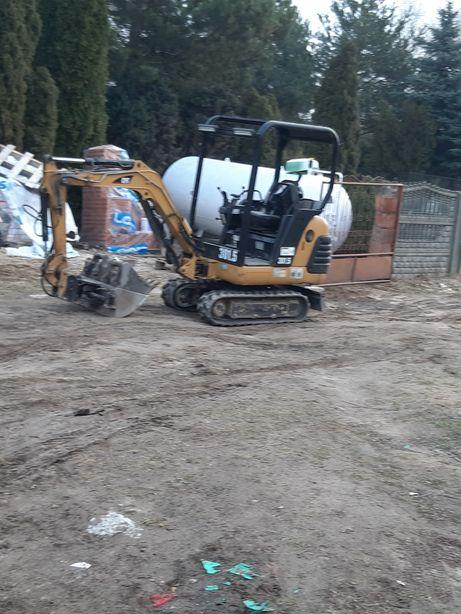 Usługi Koparko ładowarka woda kanalizacja uslugi wywrotką  ładowarką