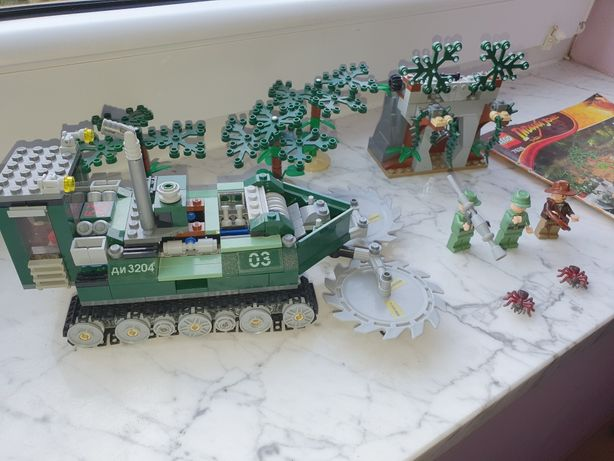 Lego Indiana Jones 7626 Jungle Cutter niszczarka rarystas kolekcja
