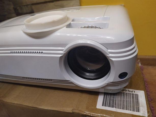 """Rzutnik Projektor FULL HD 3200 lm 155wat Gwarancja Telewizor 220"""" TV !"""