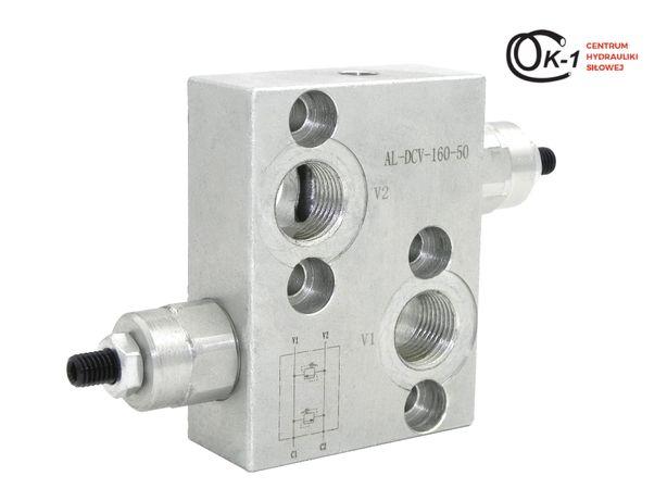 Zawór hydrauliczny przelewowy krzyżowy silnik bmr smr 1/2'' BVR 1208