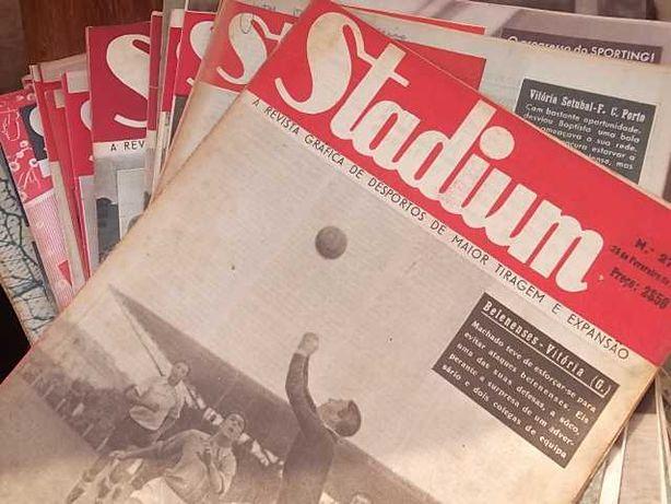 VITÓRIA SPORT CLUBE (Guimarães) REVISTAS STADIUM anos 1943 a 1949
