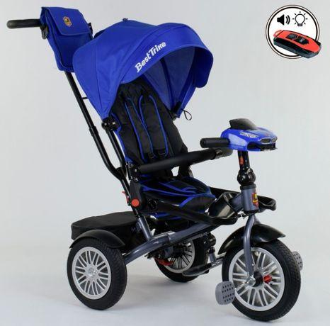 Велосипед коляска, складной руль надувные колёса,поворот сидения ровер