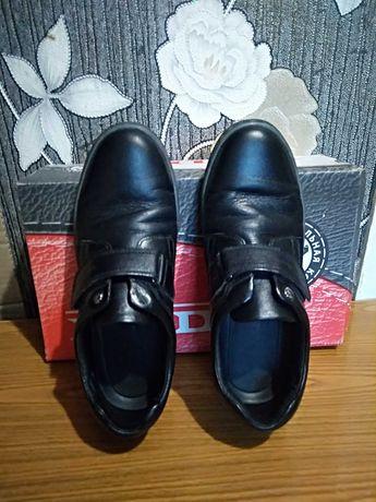 Туфли кожаные 37р