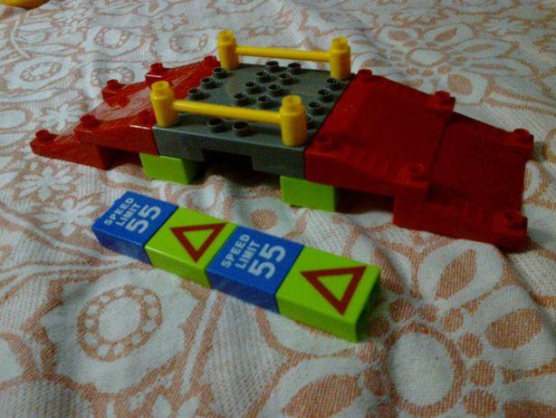 Лего lego совместимый конструктор крупные детали мост