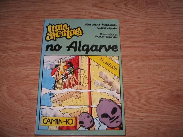 """""""Uma Aventura no Algarve"""" livro de Ana Magalhães e Isabel Alçada"""