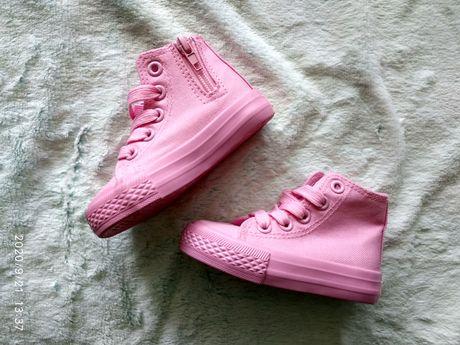Różowe trampki dla dziewczynki r 20 ellesse