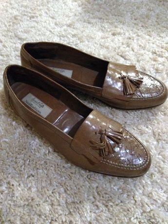 Туфли лоферы (на узкую ногу)