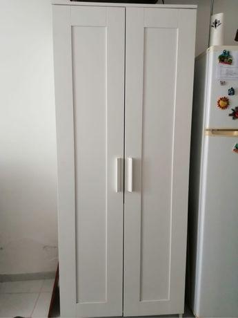Roupeiro branco Brimnes 2 portas