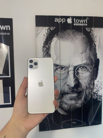 Iphone 11 Pro Max 256GB Silver Neverlock/Гарантия/Рассрочка/Магазин
