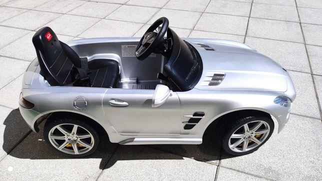 Carrinho de bateria de criança Mercedes SLS AMG