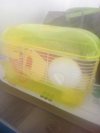 Gaiola hamster com extras