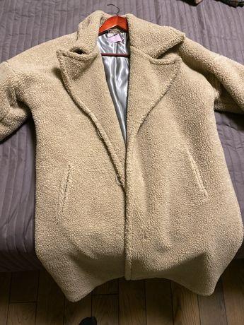 Шубка-пальто в стиле teddy bear