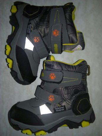 Зимние ботинки, термоботинки на мальчика 32 р-20.5 см стелька
