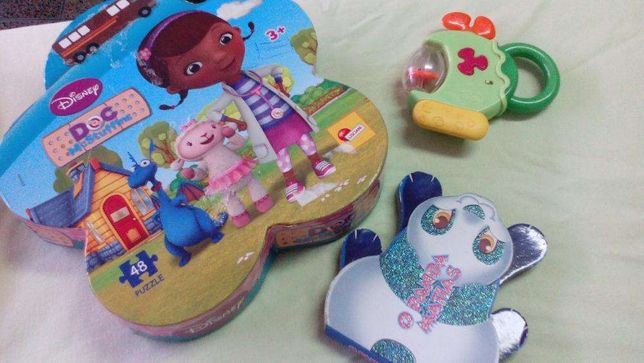 Puzzle Dra Brinquedos, chicco, Hello kitty - descida de preço