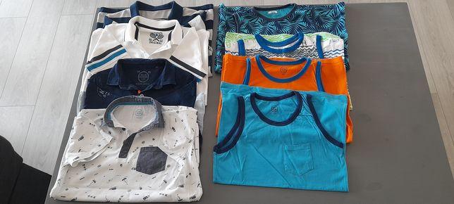 Koszulki polo i na ramiączkach rozmiar 152