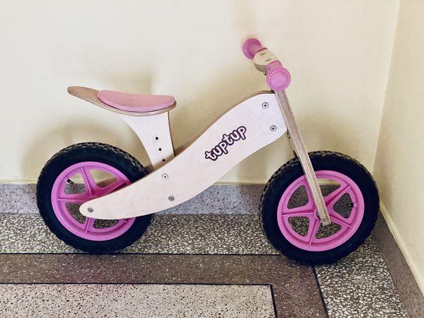 TupTup rowerek biegowy drewniany STAN IDEALNY