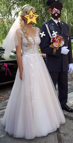 Suknia ślubna- zjawiskowa