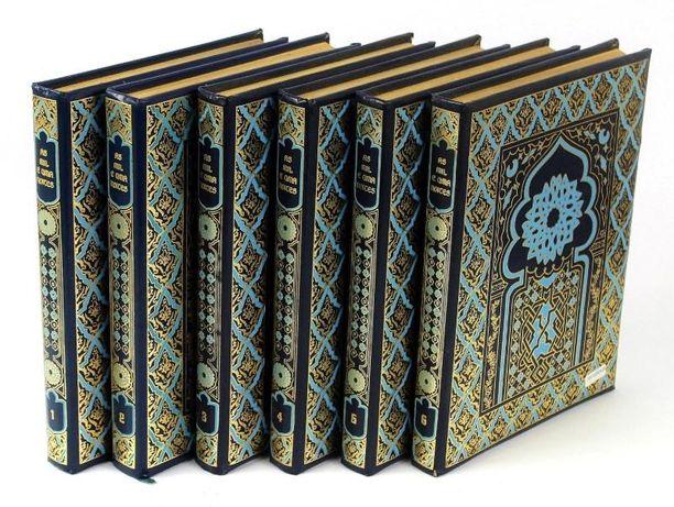 As 1001 noites texto completo Edição Amigos do livro em 6 volumes